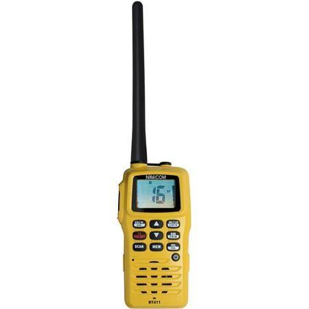 RADIO VHF NAVICOM RT411 PORTABLE 5W