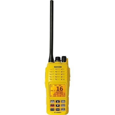 RADIO VHF NAVICOM RT420DSC+ PACK VHF PORTABLE 5W AVEC GPS
