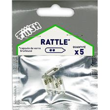 RATTLE FIIISH - PACK OF 5