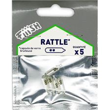 RATTLE FIIISH - PAQUETE DE 5