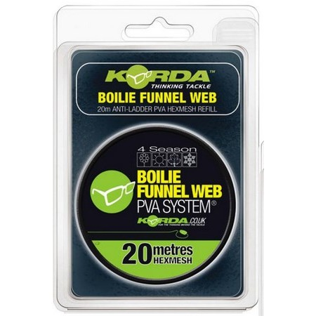 RECHARGE FILET SOLUBLE KORDA BOILIE FUNNEL WEB