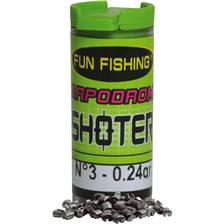RECHARGE PLOMBS FUN FISHING SHOTER
