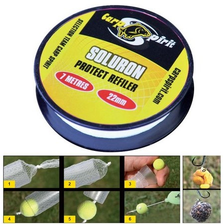 RECHARGE SOLURON PROTECT CARP SPIRIT REFILER 7M