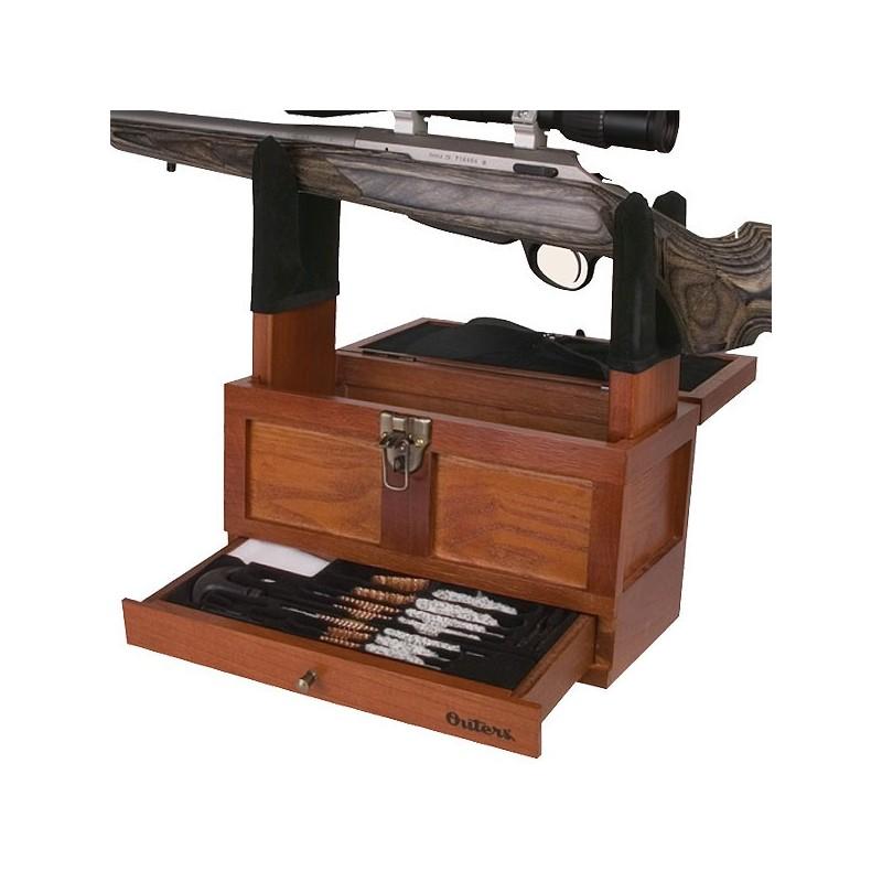reinigungskasten gewehr karabiner outers 25 elemente. Black Bedroom Furniture Sets. Home Design Ideas