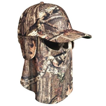 RETRACTABLE CAP BROWNING FACE MASK