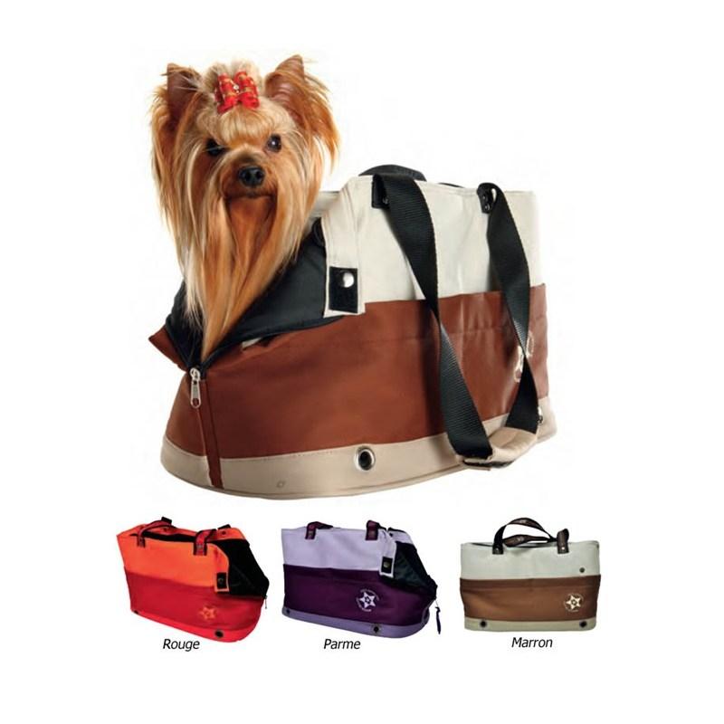 sac de transport chien shopper pets connection. Black Bedroom Furniture Sets. Home Design Ideas
