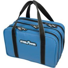 SAC DE TRANSPORT DAM STEELPOWER BLUE WATER REPELLENT LURE BAG