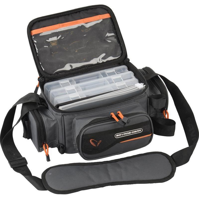 sac de transport savage gear system box bag. Black Bedroom Furniture Sets. Home Design Ideas
