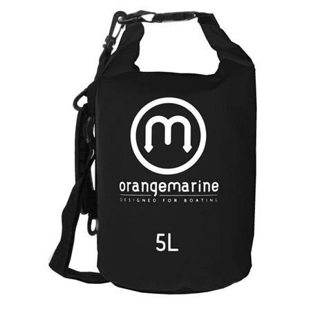 SAC ETANCHE ORANGE MARINE RENFORCE - NOIR