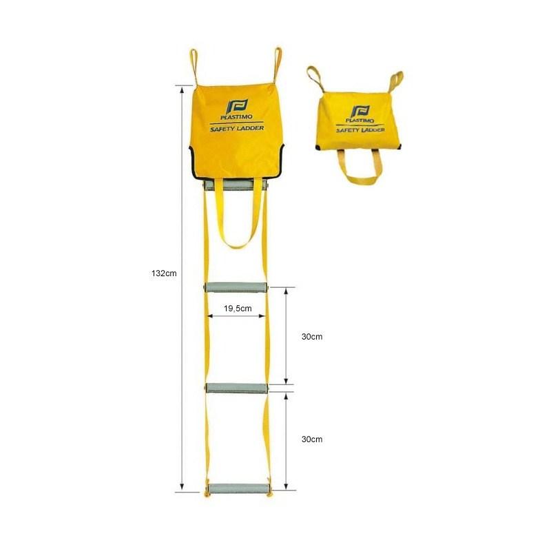 Safety ladder plastimo