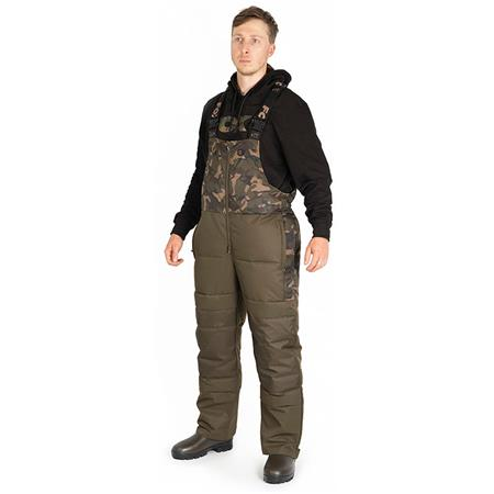 SALOPETTE HOMME FOX RS QUILTED - CAMO/KAKI