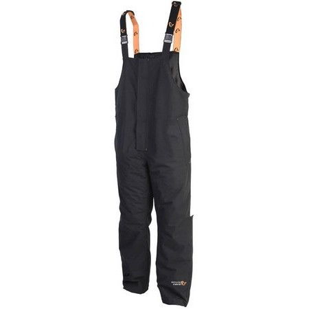 SALOPETTE HOMME SAVAGE GEAR PROGUARD THERMO BIB AND BRACE - NOIR