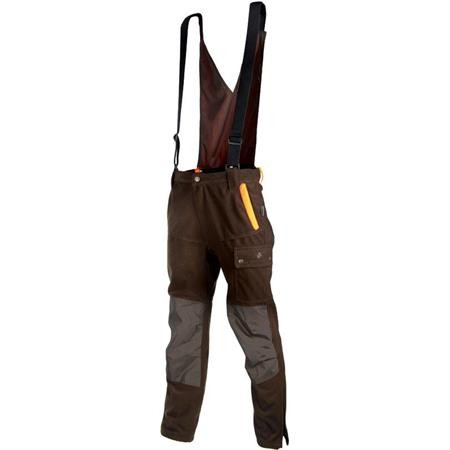 SALOPETTE HOMME SOMLYS 595 THERMO-HUNT - MARRON