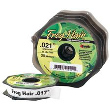 SALTWATER MONOFILAMENT GAMMA FROG HAIR 100 M