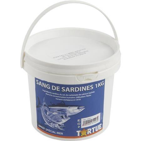 SARDINE BLOOD TORTUE - 1KG
