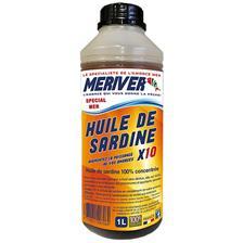 SARDINE OIL MERIVER 100% CONCENTRE X10