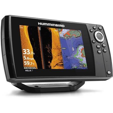 SCANDAGLIO GPS HUMMINBIRD HELIX 7G3N CHIRP MEGA SI