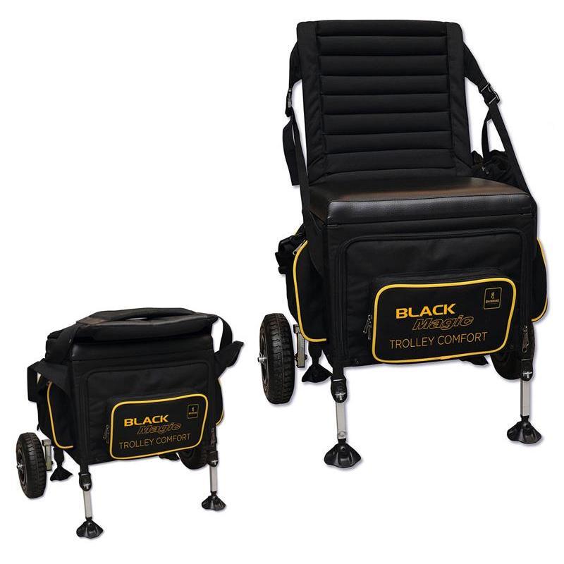 Seat box browning black magic trolley comfort box