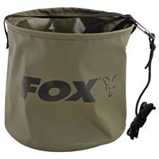 SEAU PLIABLE FOX COLLAPSIBLE WATER BUCKET LARGE - CCC049