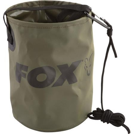 SEAU PLIABLE FOX COLLAPSIBLE WATER BUCKET