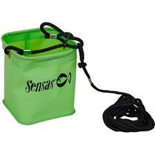 SEAU SENSAS ETANCHE GREEN + CORDE