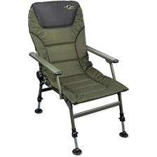 SEDIA LEVEL CHAIR CARP SPIRIT CLASSIC PADDED LEVEL CHAIR WITH ARMS
