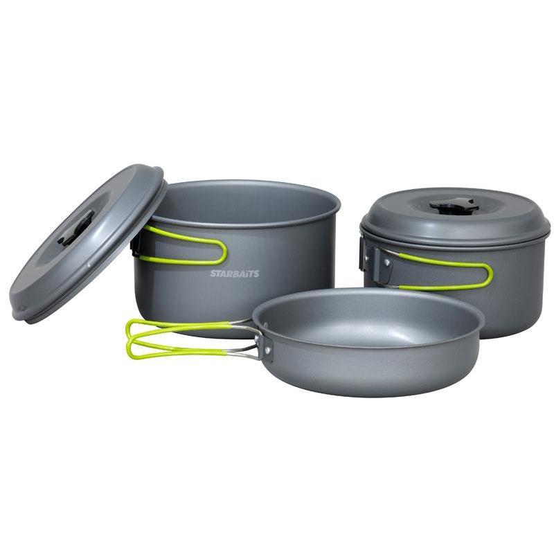 Set de cocina starbaits deluxe cook for Utillaje cocina