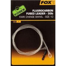 SHOCK LEADER FOX EDGES FLUOROCARBON FUSED LEADERS
