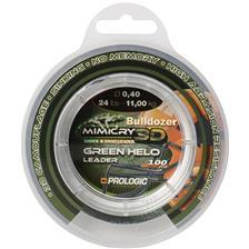 SHOCK LEADER PROLOGIC MIMICRY GREEN HELO - 100M