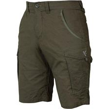 SHORT HOMME FOX COLLECTION GREEN & SILVER COMBAT SHORTS - KAKI