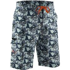 Apparel Grundéns FISH HEAD BOARD SHORT CAMO GRIS L