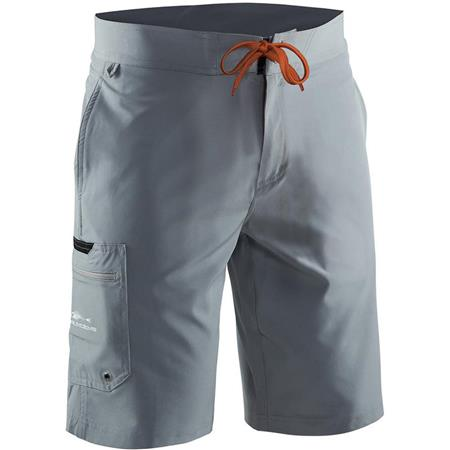 SHORT HOMME GRUNDÉNS FISH HEAD BOARD SHORT - GRIS