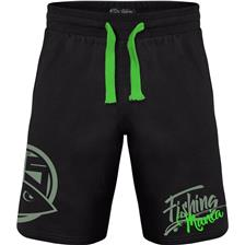 SHORT HOMME HOT SPOT DESIGN FISHING MANIA - NOIR/VERT