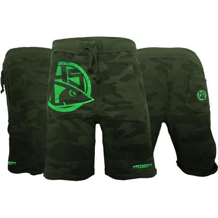 SHORT HOMME HOT SPOT DESIGN HSD GREEN CAMO