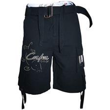 SHORTS MAN HOT SPOT DESIGN CARPER - BLACK