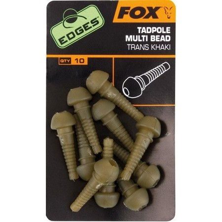 SLEEVE FOX TADPOLE MULTI BEAD - PACK OF 50