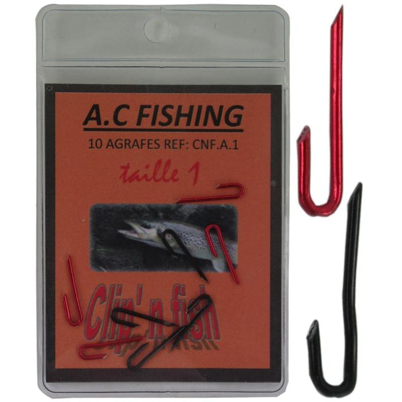 SNAP FOR DEADBAIT RIG MULTI LURES AC FISHING - PACK OF 10 - N°4