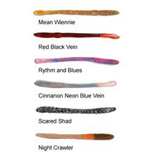 SOFT LURE AA'S WORM 8CM - PACK OF 8