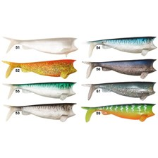 SOFT LURE HART ABSOLUT SHAD - PACK OF 4