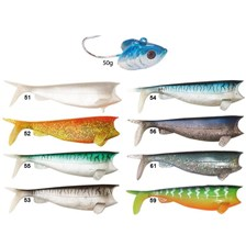 SOFT LURE HART COMBO ABSOLUT SHAD