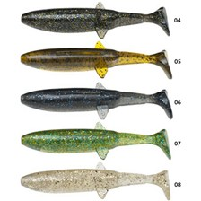 SOFT LURE VALLEY HILL JAMRFIN - PACK OF 5