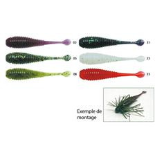 SOFT LURE VALLEY HILL NOIKE KEM KEM SHAD - PACK OF 10
