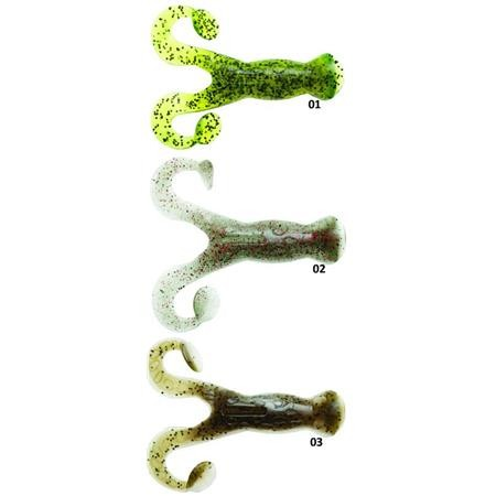 SOFT LURE ZMAN POP FROG - 10CM - PACK OF 4