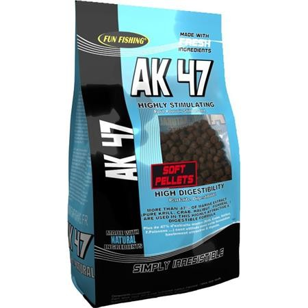 SOFT PELLETS FUN FISHING AK 47 - 800G