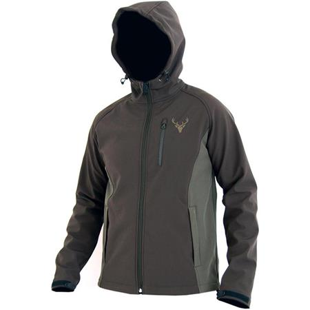 SOFTSHELL HOMME NORTH COMPANY ACTION - MARRON