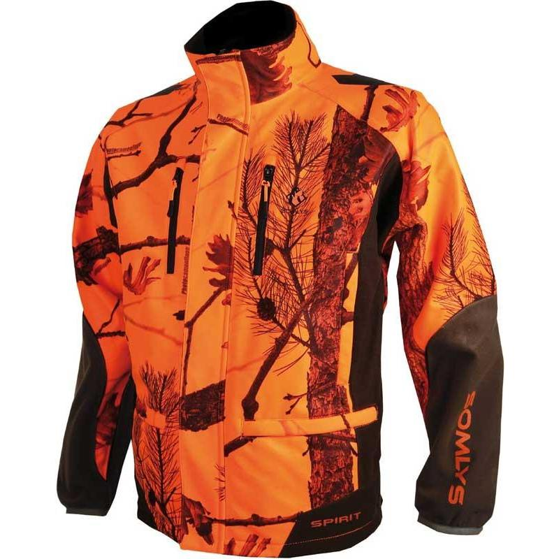 SOFTSHELL HOMME SOMLYS 441N SOFTSHELL - CAMO ORANGE - M