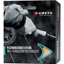 Fly Lines Greys PLATINUM SHOOT WF8 FLOAT WHITE