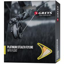 Fly Lines Greys PLATINUM STEALTH WF6 INTERMÉDIAIRE TIP CLEAR CLEAR KHAKI