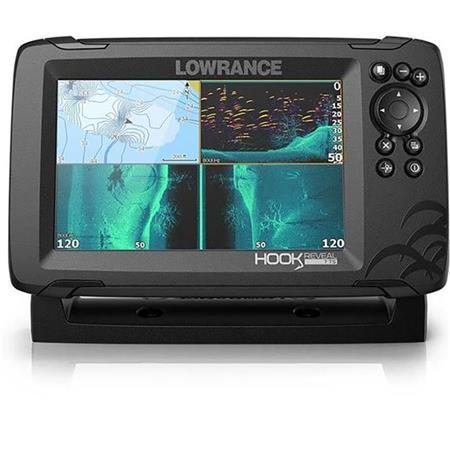 SONDA GPS LOWRANCE HOOK REVEAL 7