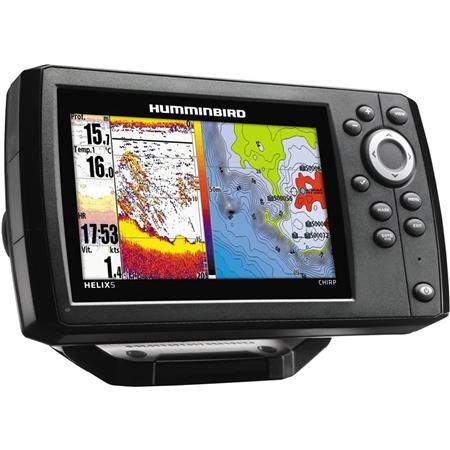 SONDEUR / GPS COULEUR HUMMINBIRD HELIX 5 G2 CHIRP 2D XD